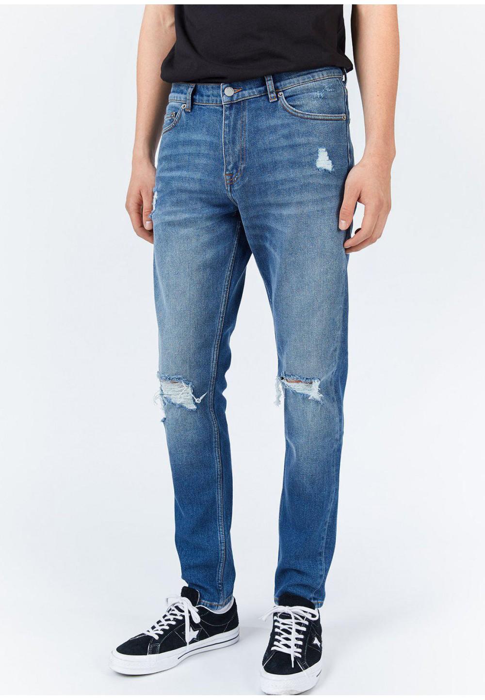 Сині чоловічі джинси