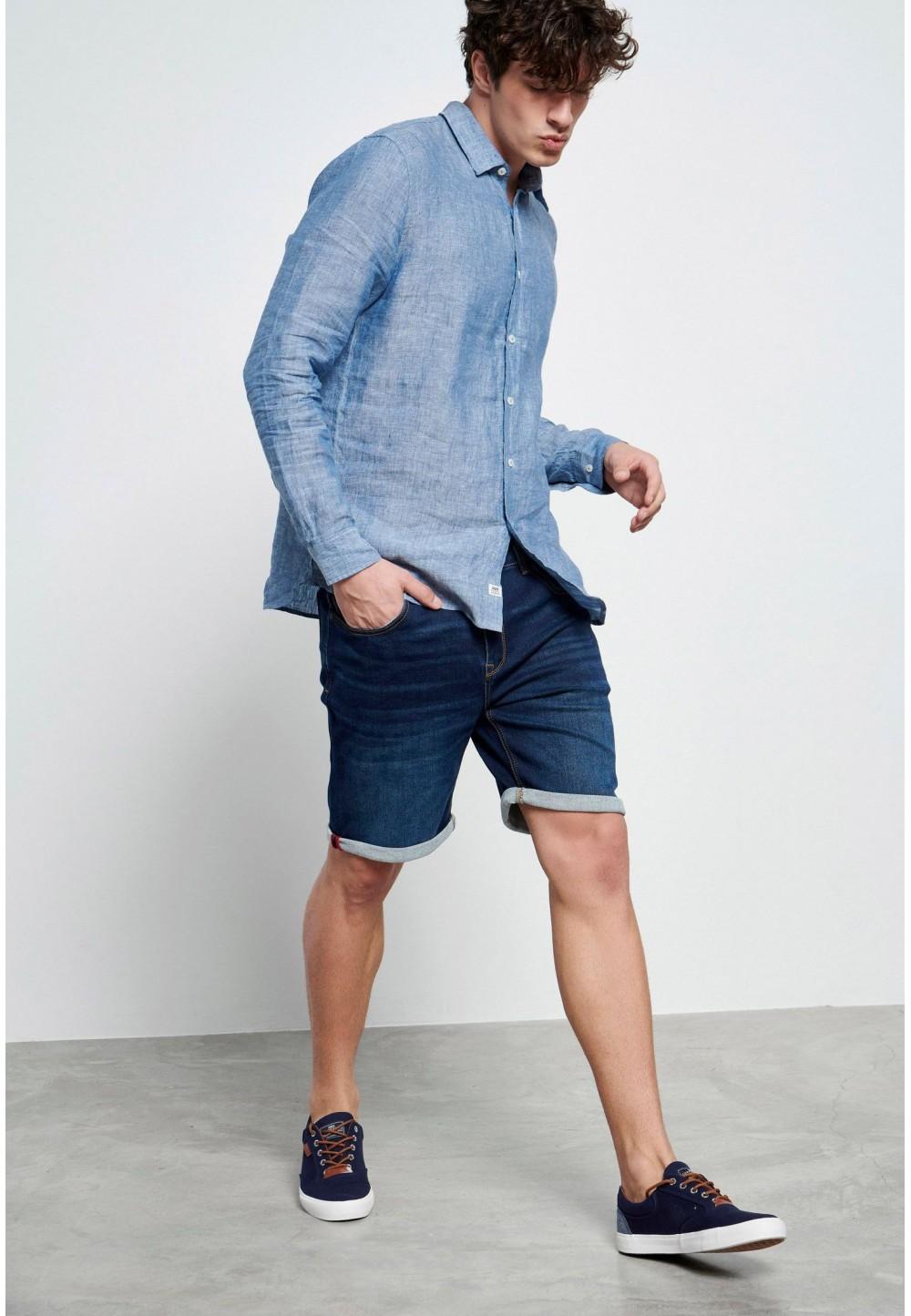 Синие джинсовые шорты Essential
