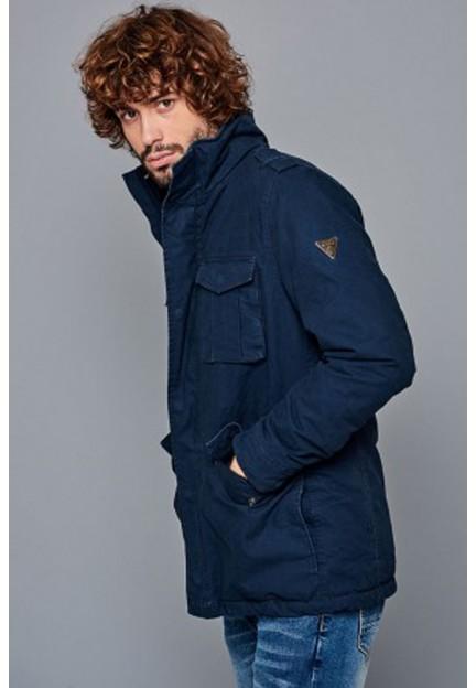 Cиня куртка