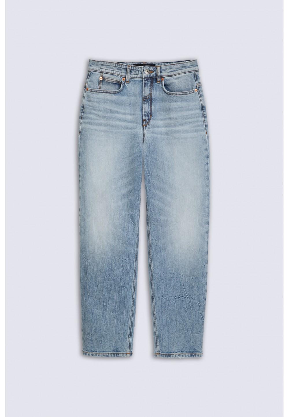 Винтажные джинси высокой посадки  MOM_2