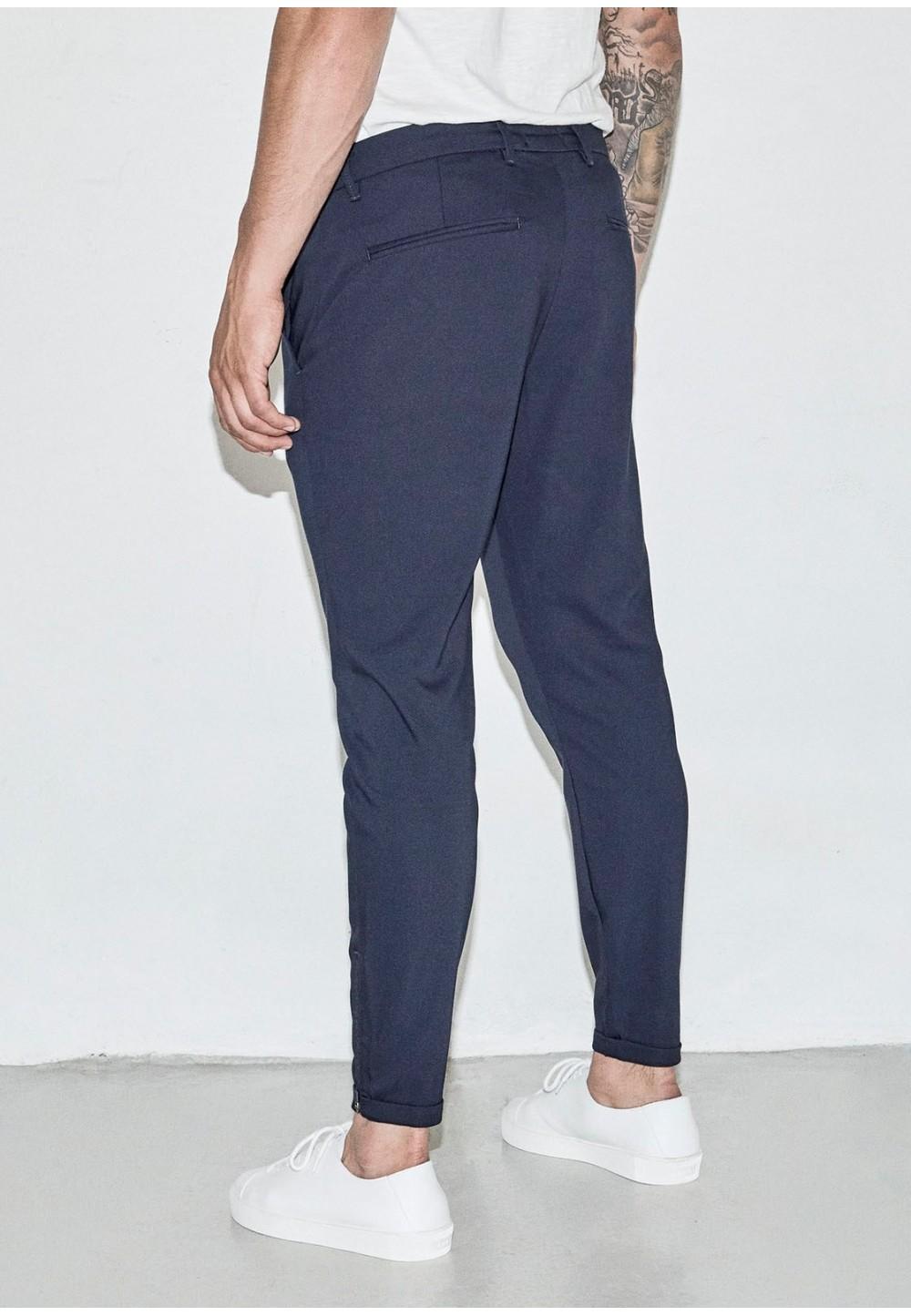 Синие брюки- чиносы PISA