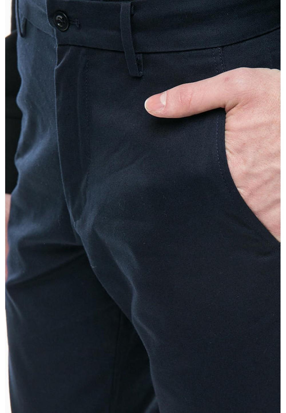 Синие брюки чинос