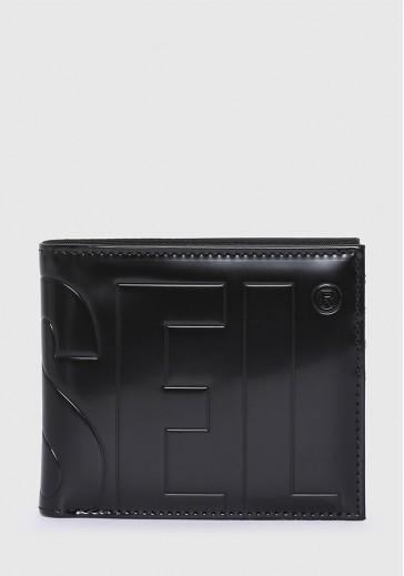Складаний гаманець з тисненим логотипом