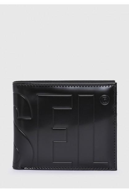 Складной кошелек с тисненым логотипом