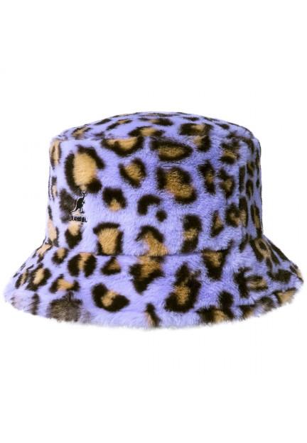 Актуальная панама от бренда Kangol Faux Fur Bucket