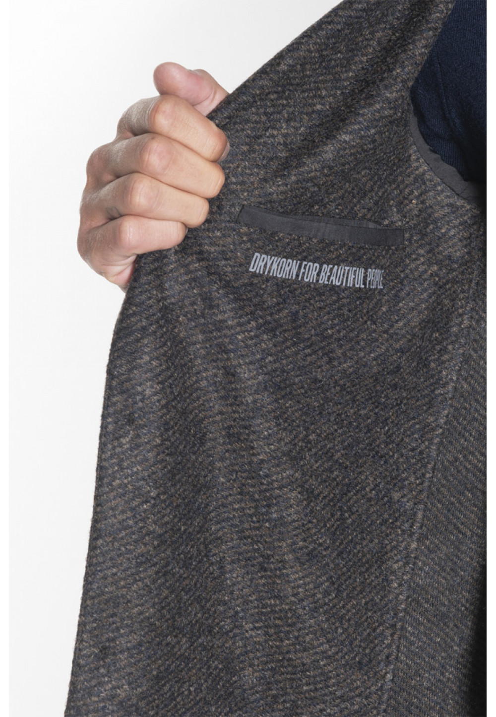 Классический серый пиджак