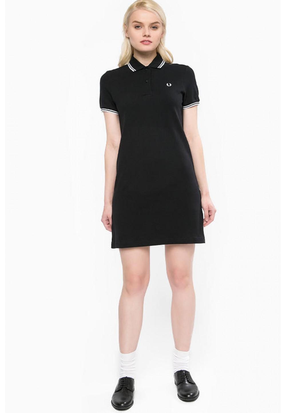 Платье короткое черное