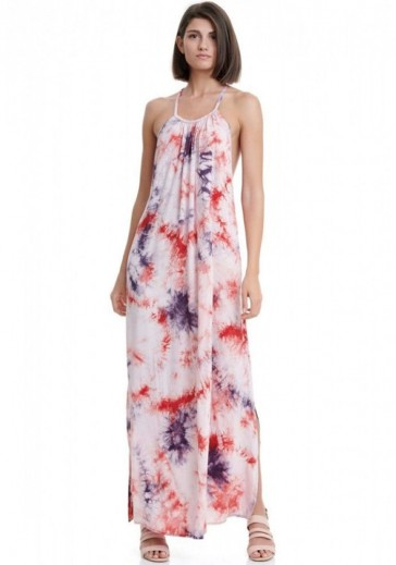 Довга сукня з відкритою спиною