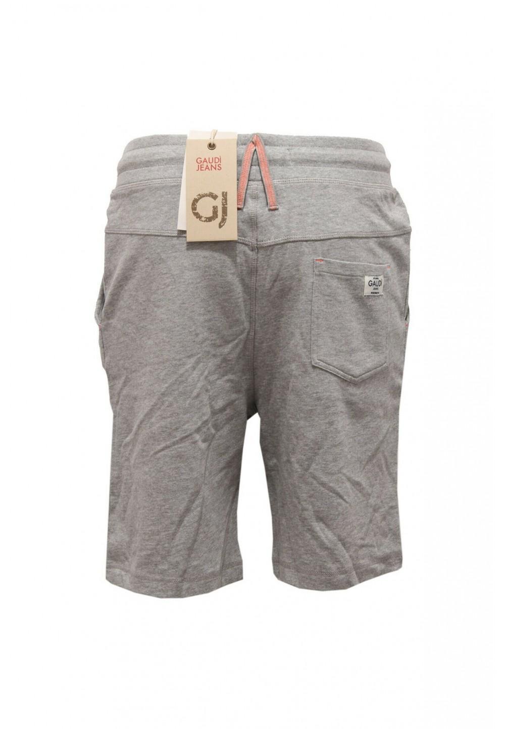 Хлопковые серые шорты