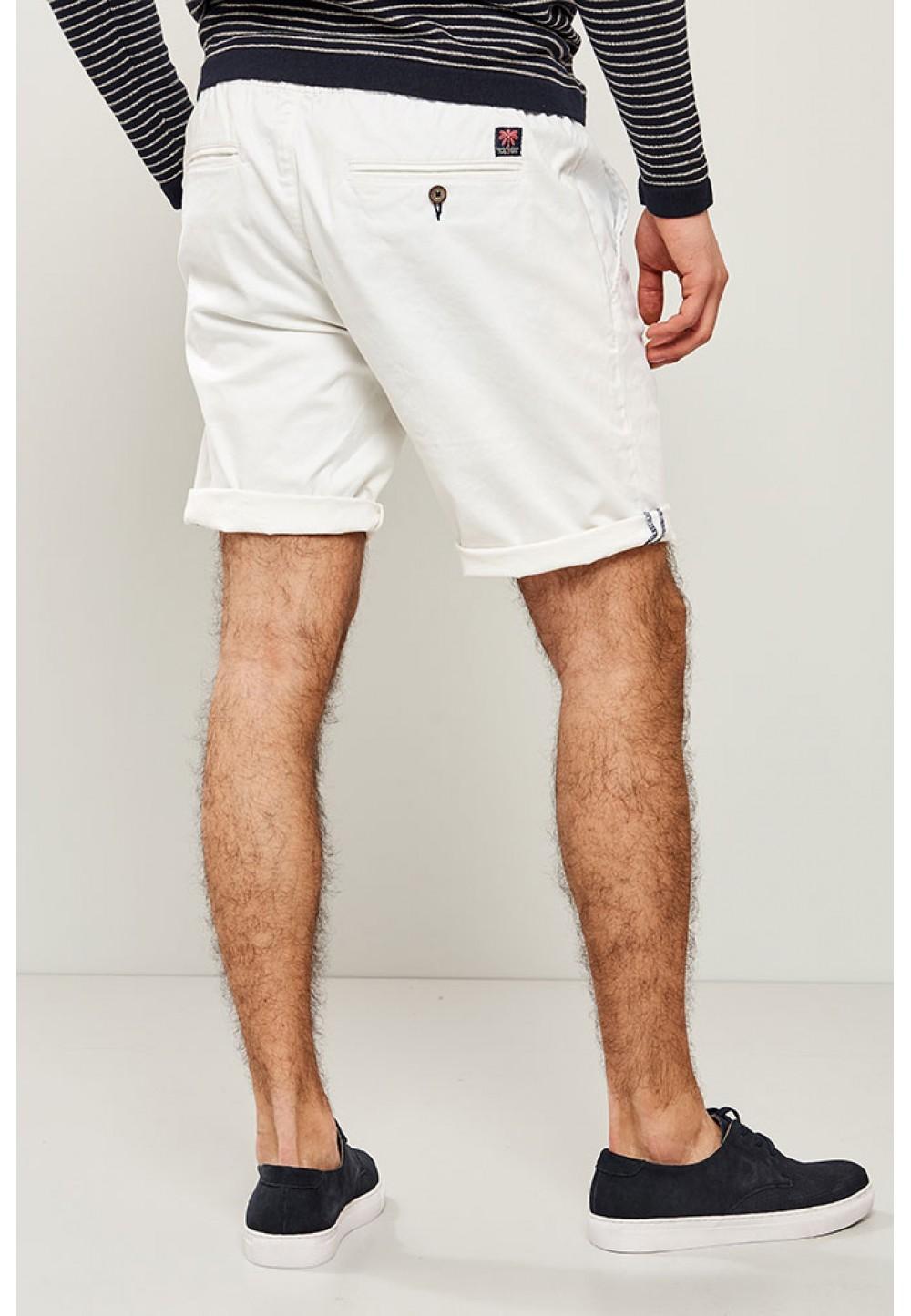 Хлопковые белые шорты