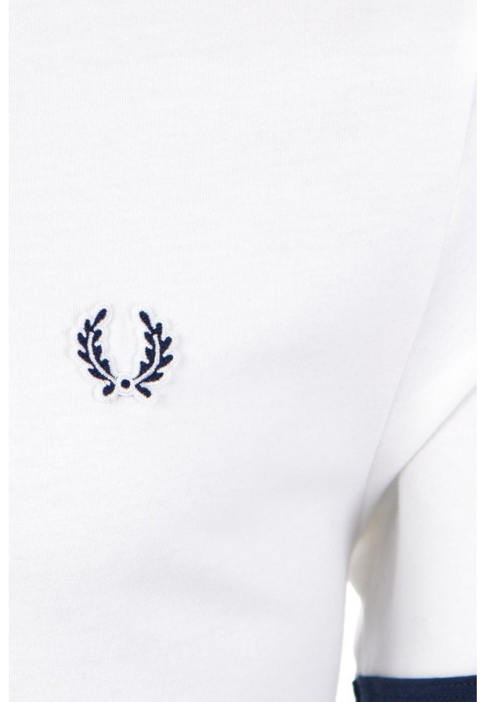 Хлопковая белая футболка с принтом