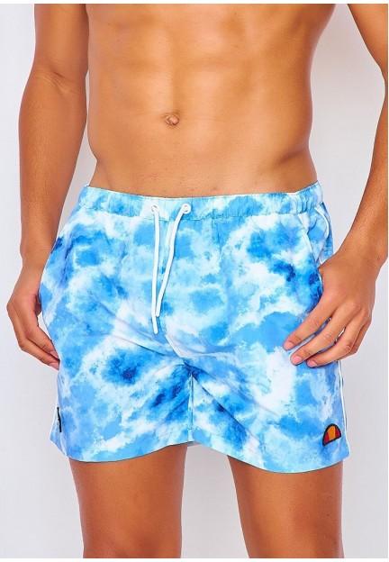 Голубые спортивные шорты