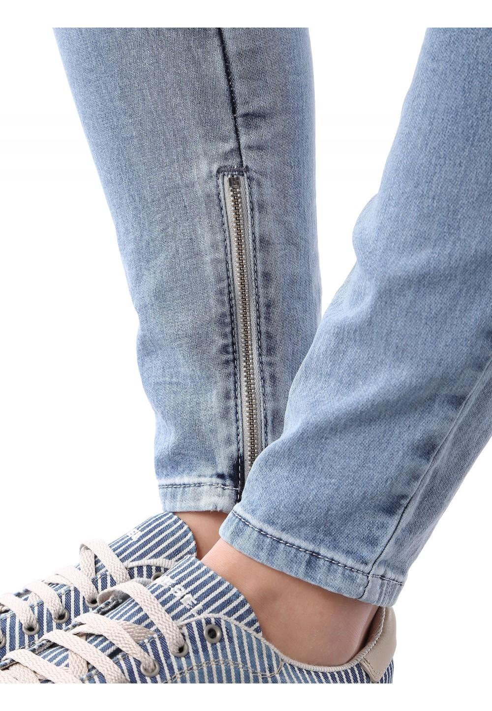 Голубой комбинезон JoggJeans