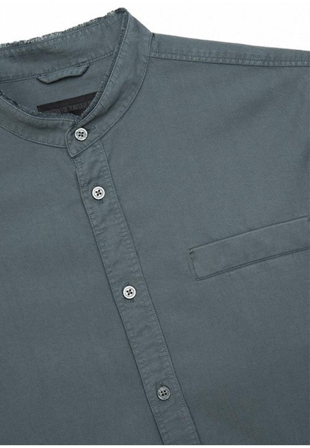 Серая рубашка