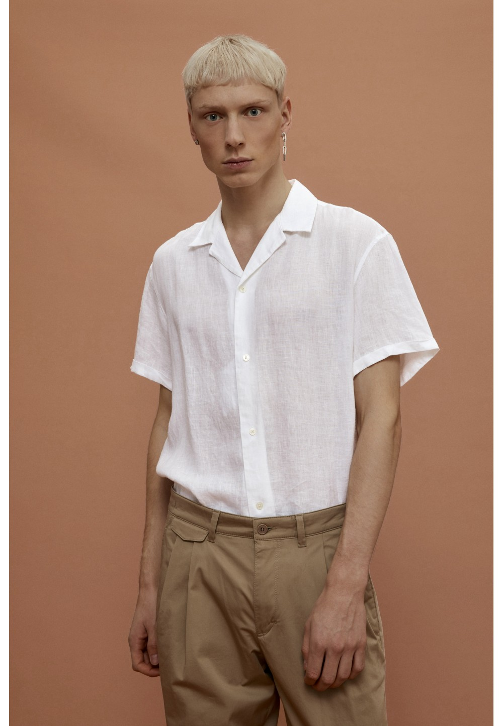 Рубашка - поло BIJAN из льна