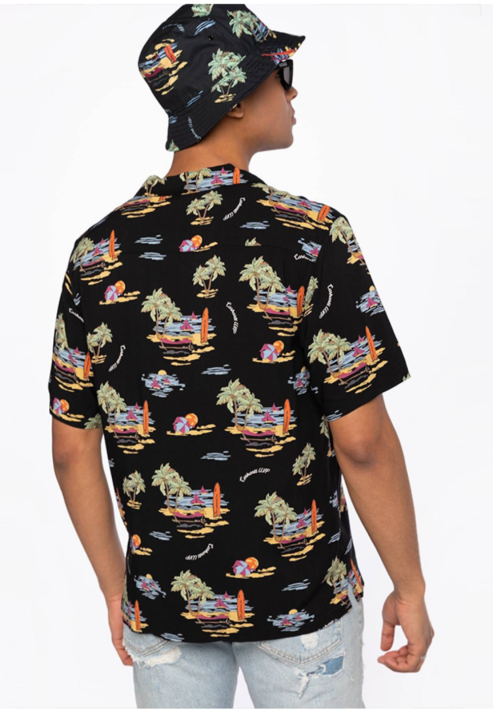 Літня сорочка з принтами