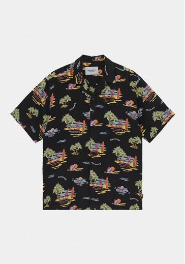 Летняя рубашка с принтами