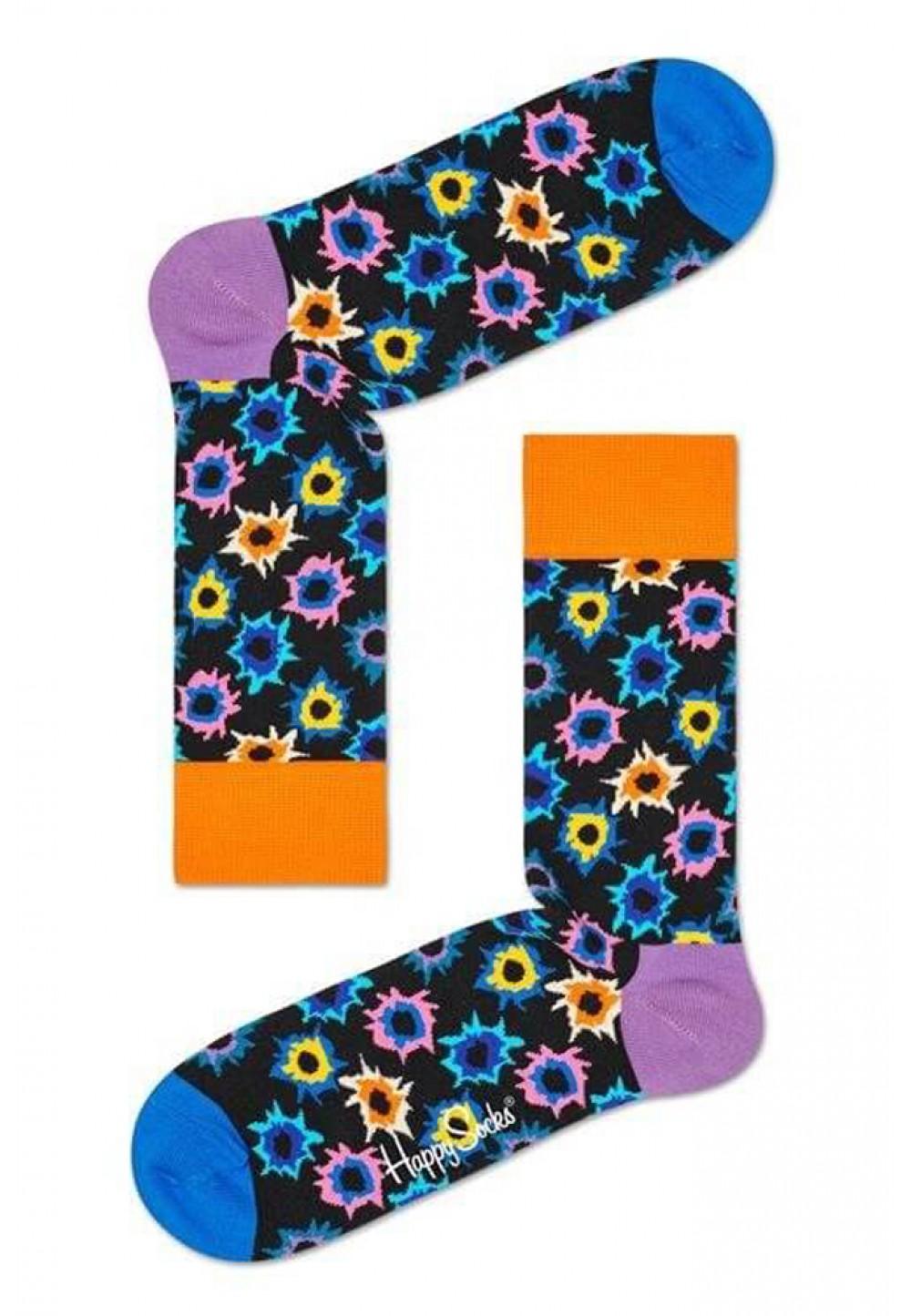 Носки с ярким рисунком
