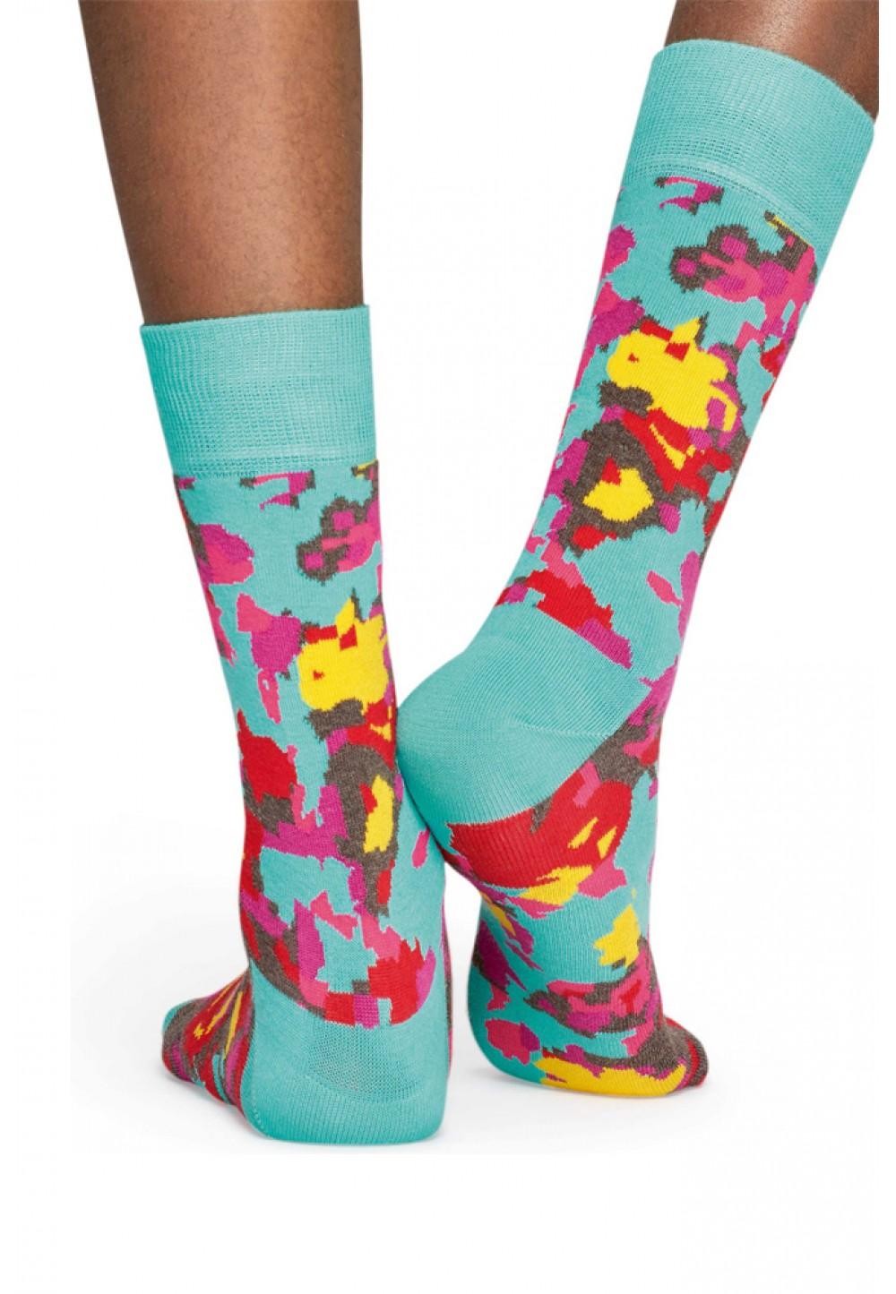 Носки цветочная поляна