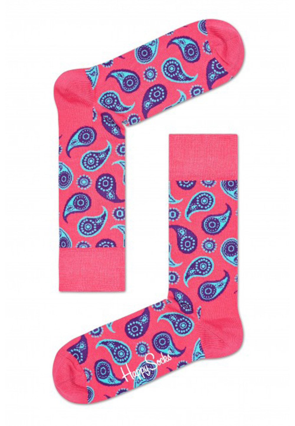 Носки с восточными огурцами