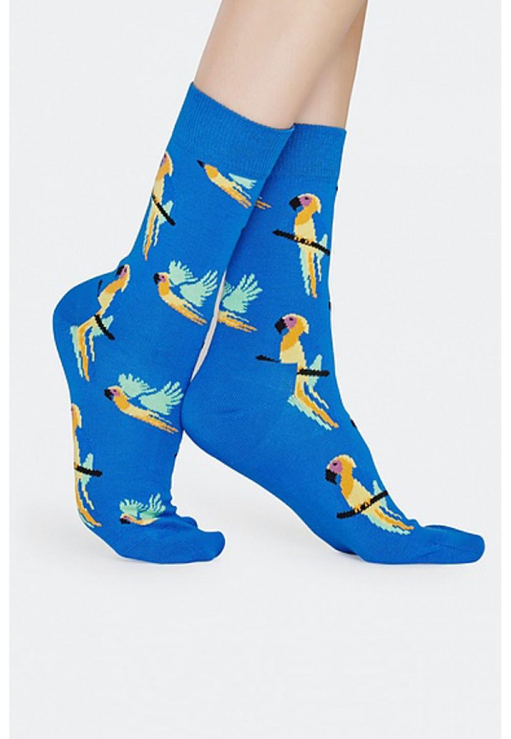 Носки с попугаем