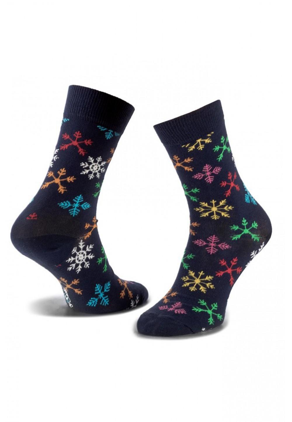 Носки снежинки
