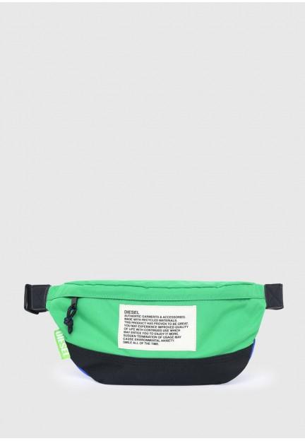 Поясная сумка Green Label с цветными блоками