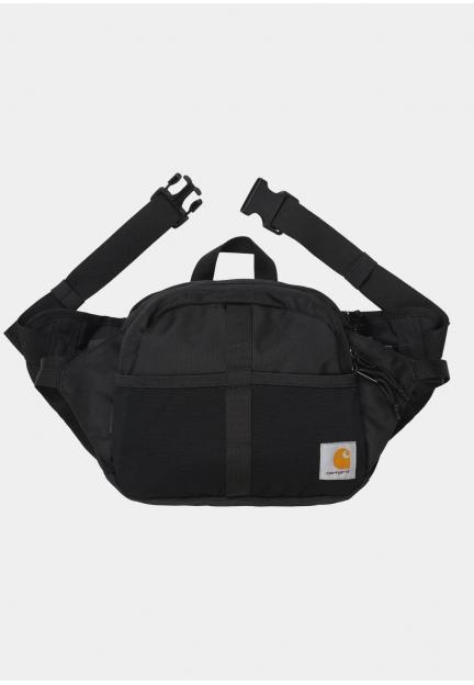 Поясна сумка з нашивкою бренду
