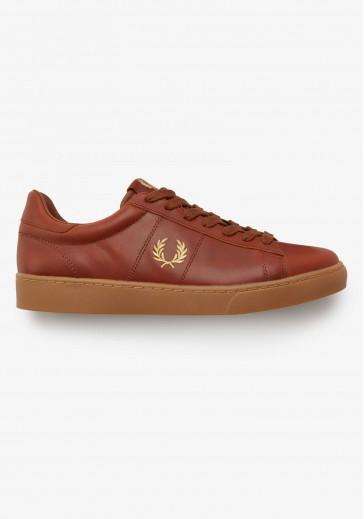 Кожаные кроссовки  Spencer