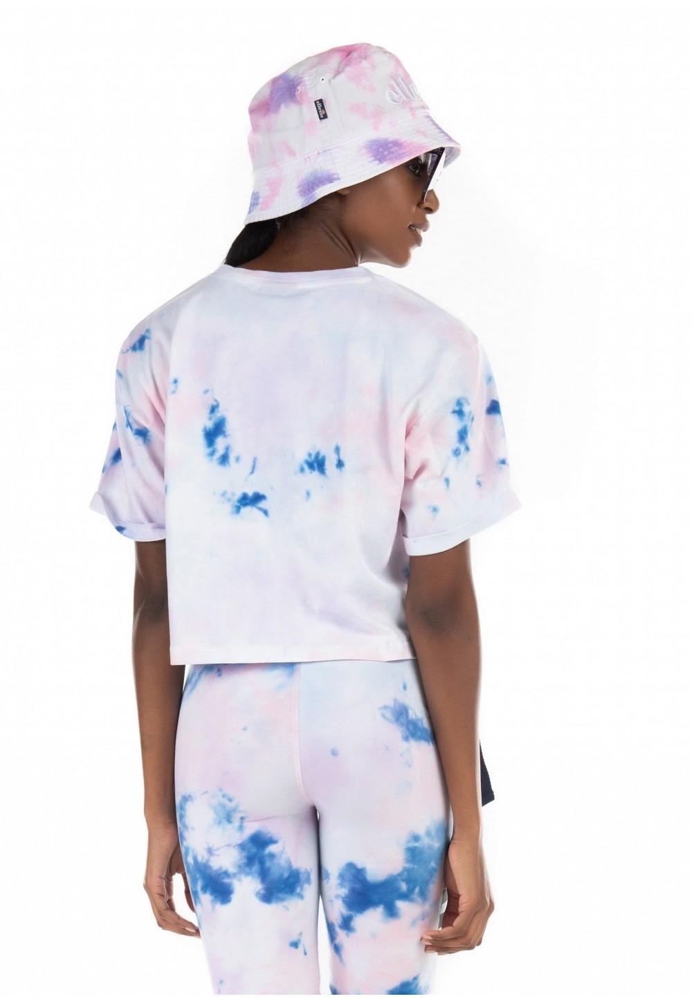 Розовая футболка свободного кроя Alberta