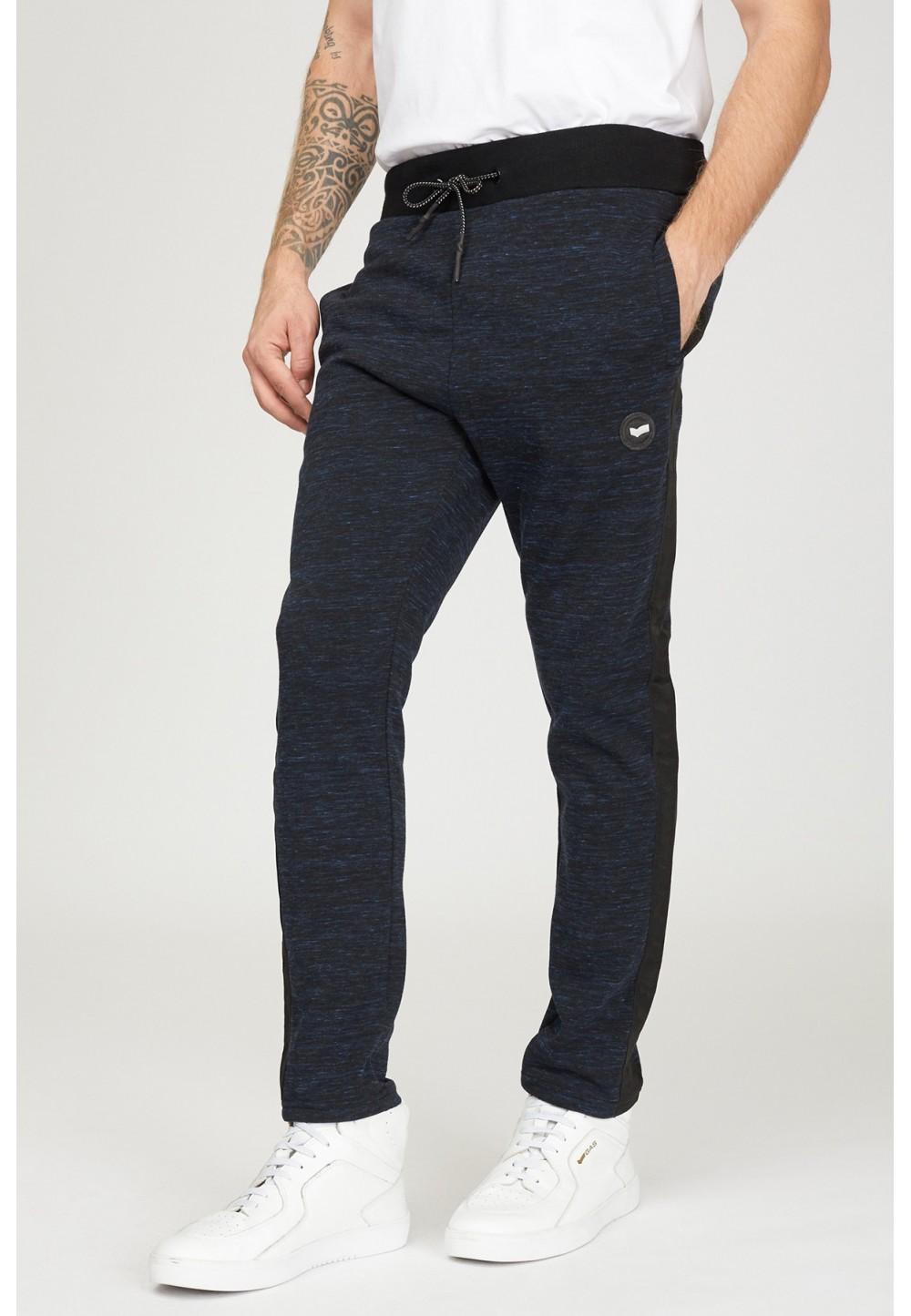 Спортивные темно-синие брюки
