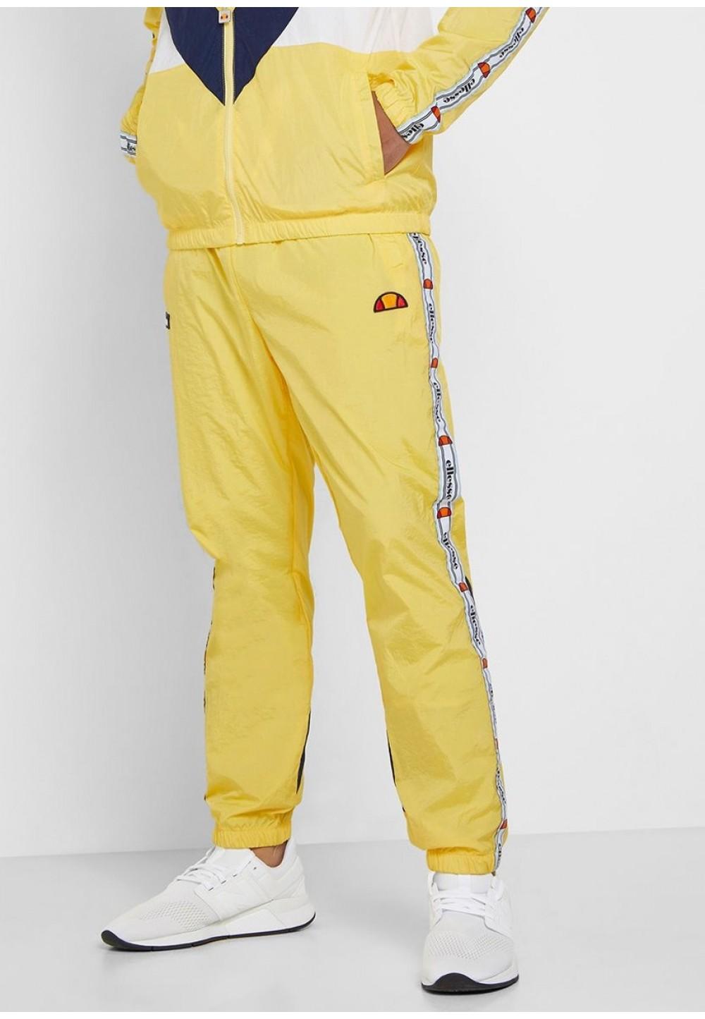 Спортивные желтые брюки