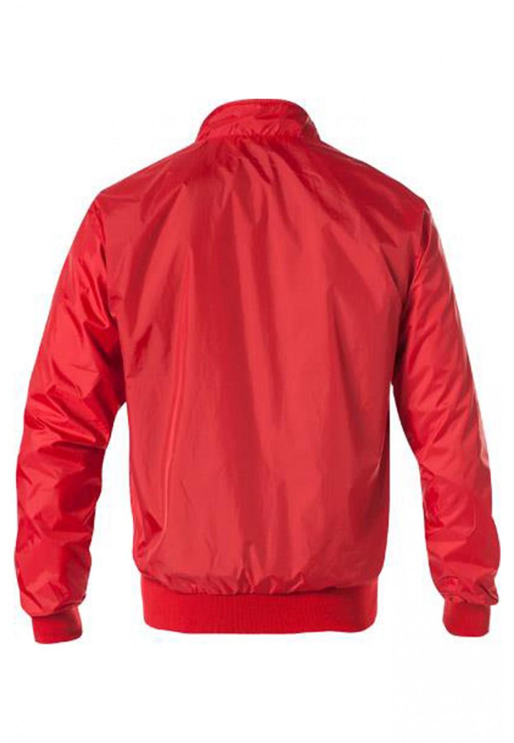 Красная куртка на молнии
