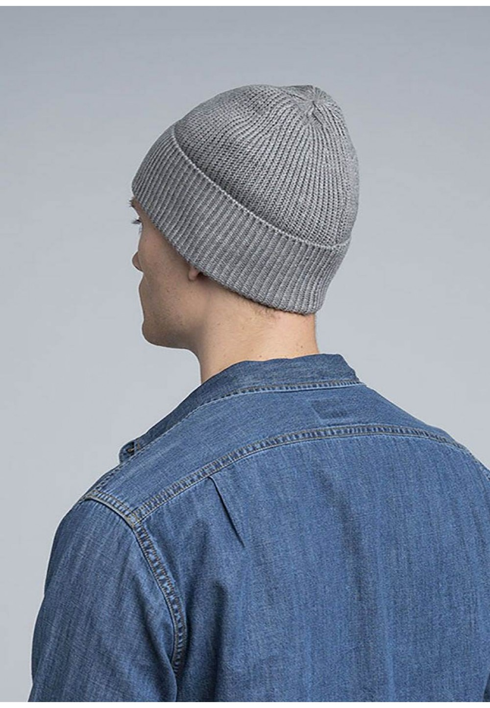 Трикотажна шапка біні