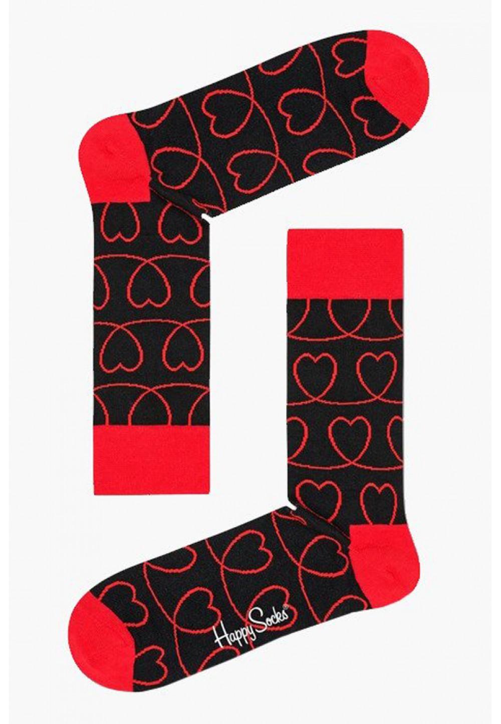 Три пары Носок с сердцами