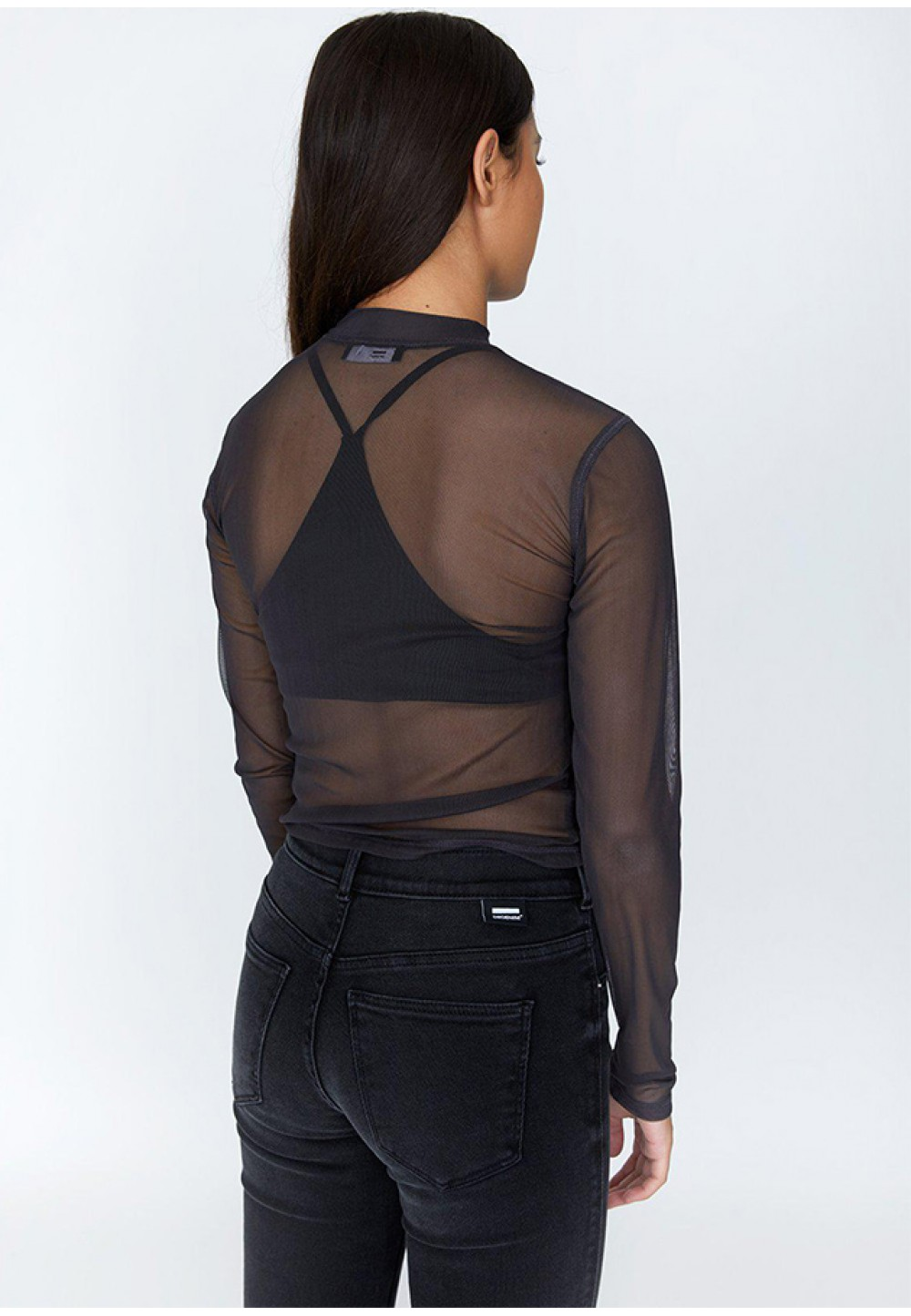 Прозрачная футболка Misty Top