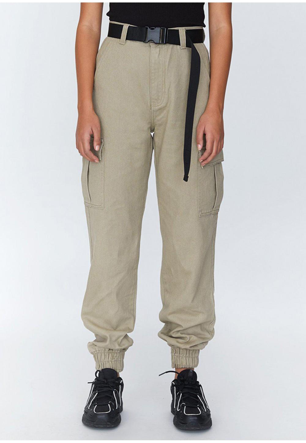 Широкие песочные брюки Ruby Cargo Trouser