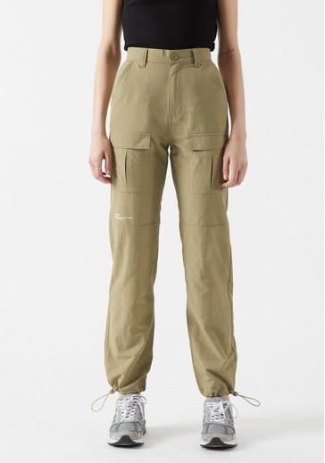 Вільні жіночі штани з еластичними манжетами