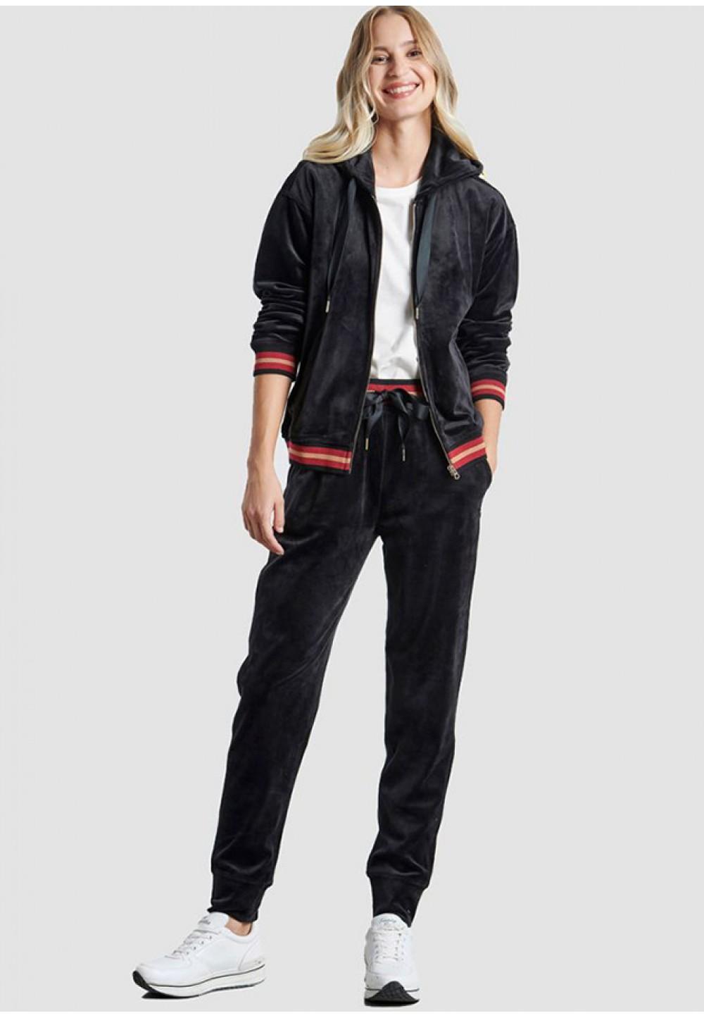 Бархатные женские брюки