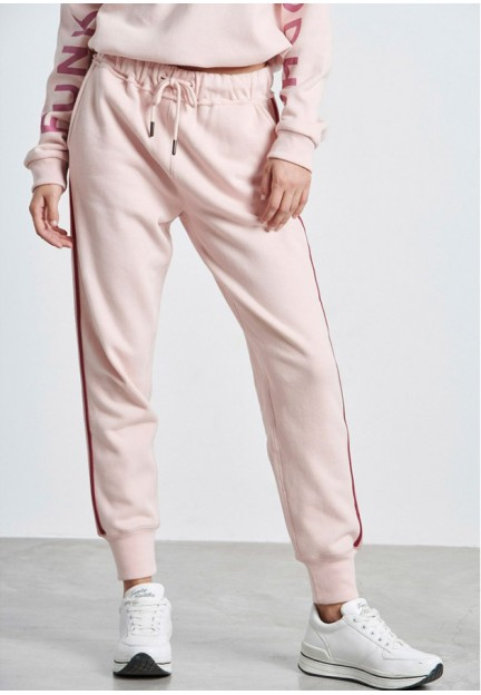 Женские спортивные брюки розового цвета