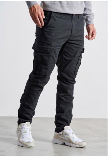 Чоловічі чорні завужені брюки