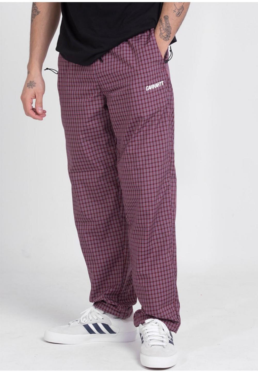 Яркие цветные брюки