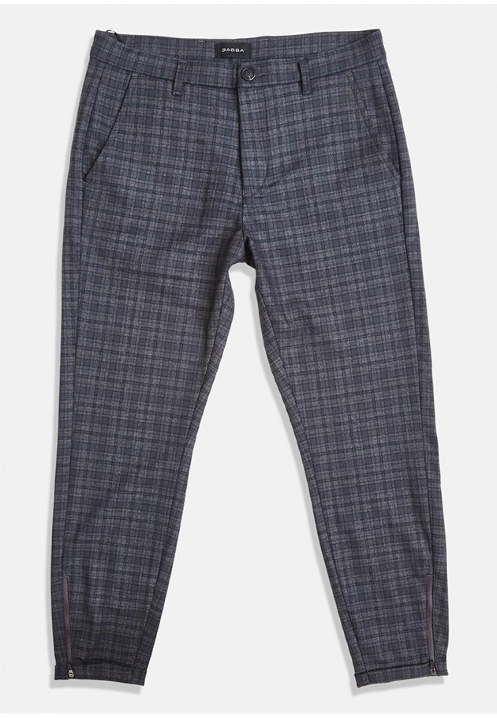 Мужские клетчатые брюки