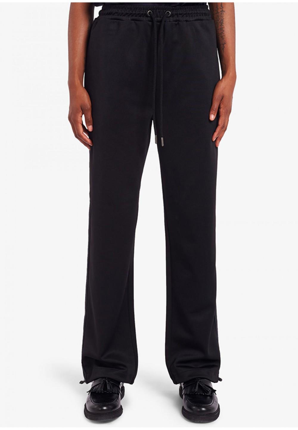 Черные спортивные брюки с затяжками