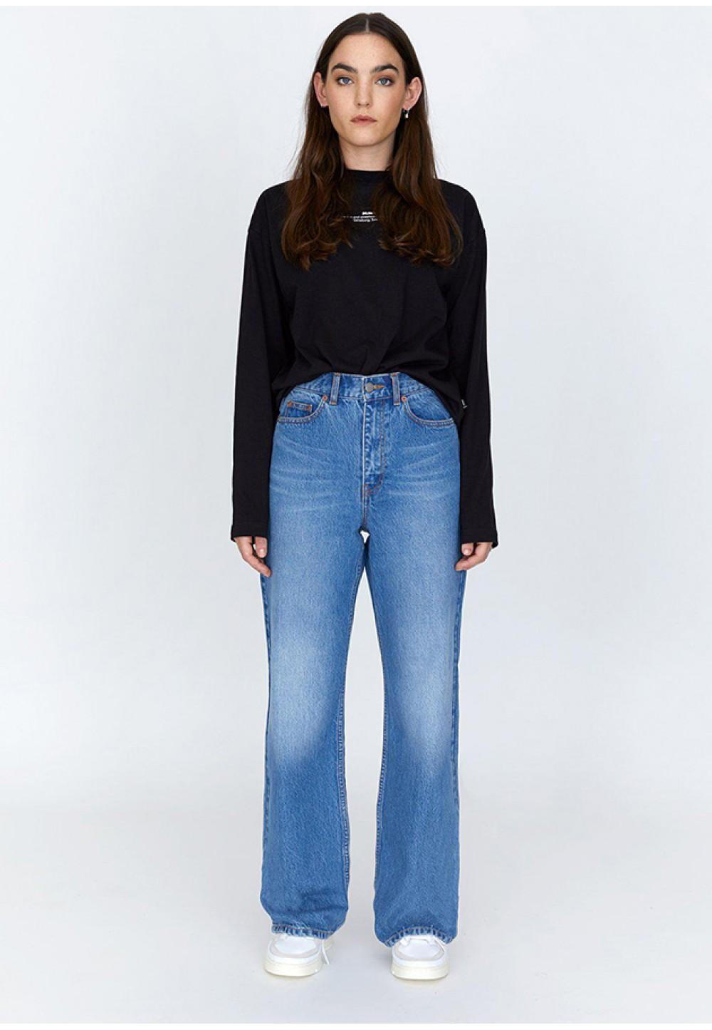 Стильные джинсы-клеш Echo