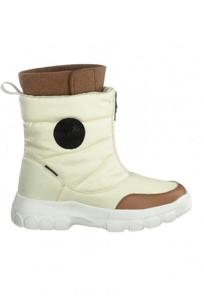 Стильные бежевые ботинки