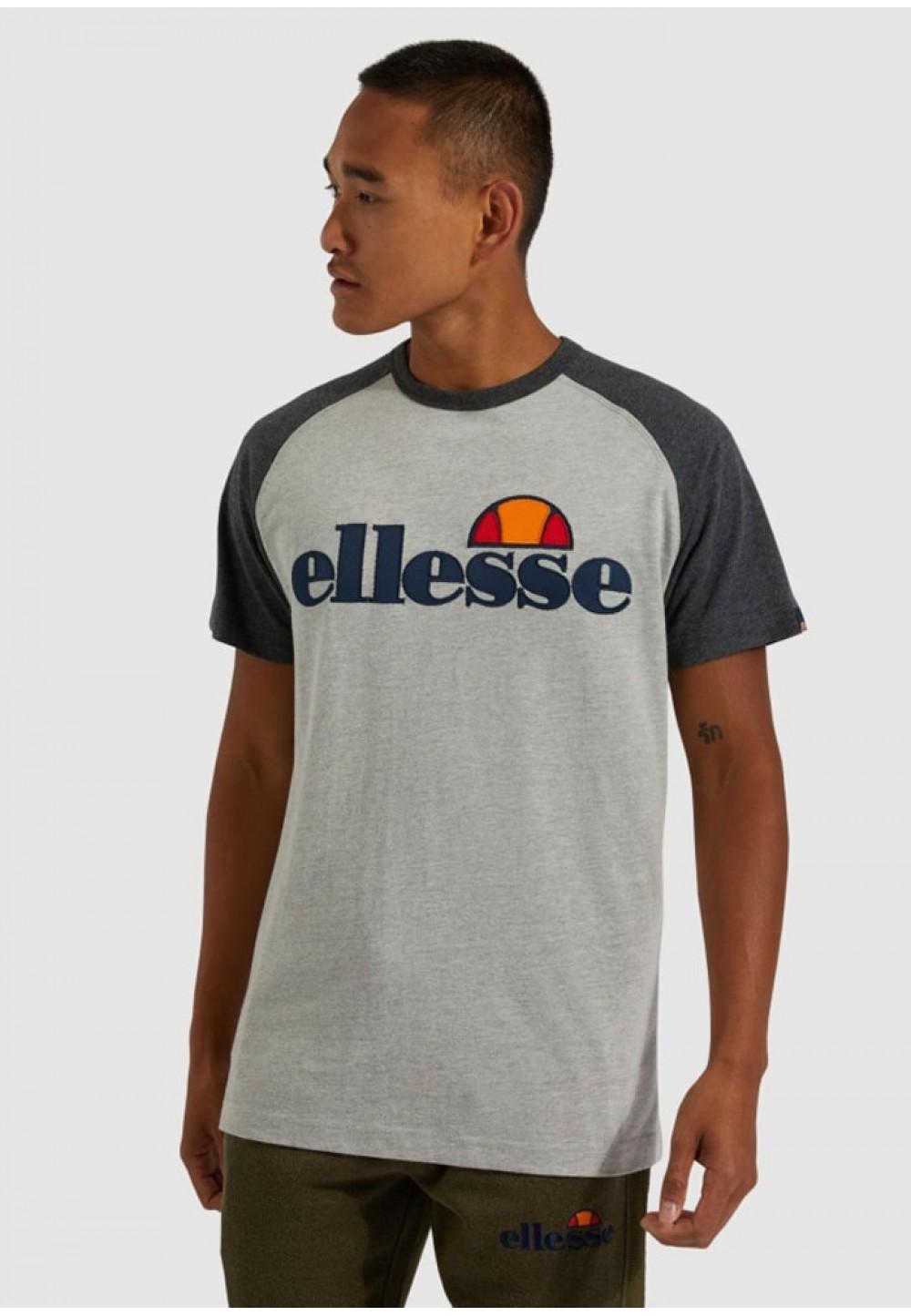 Стильная мужская футболка серого цвета