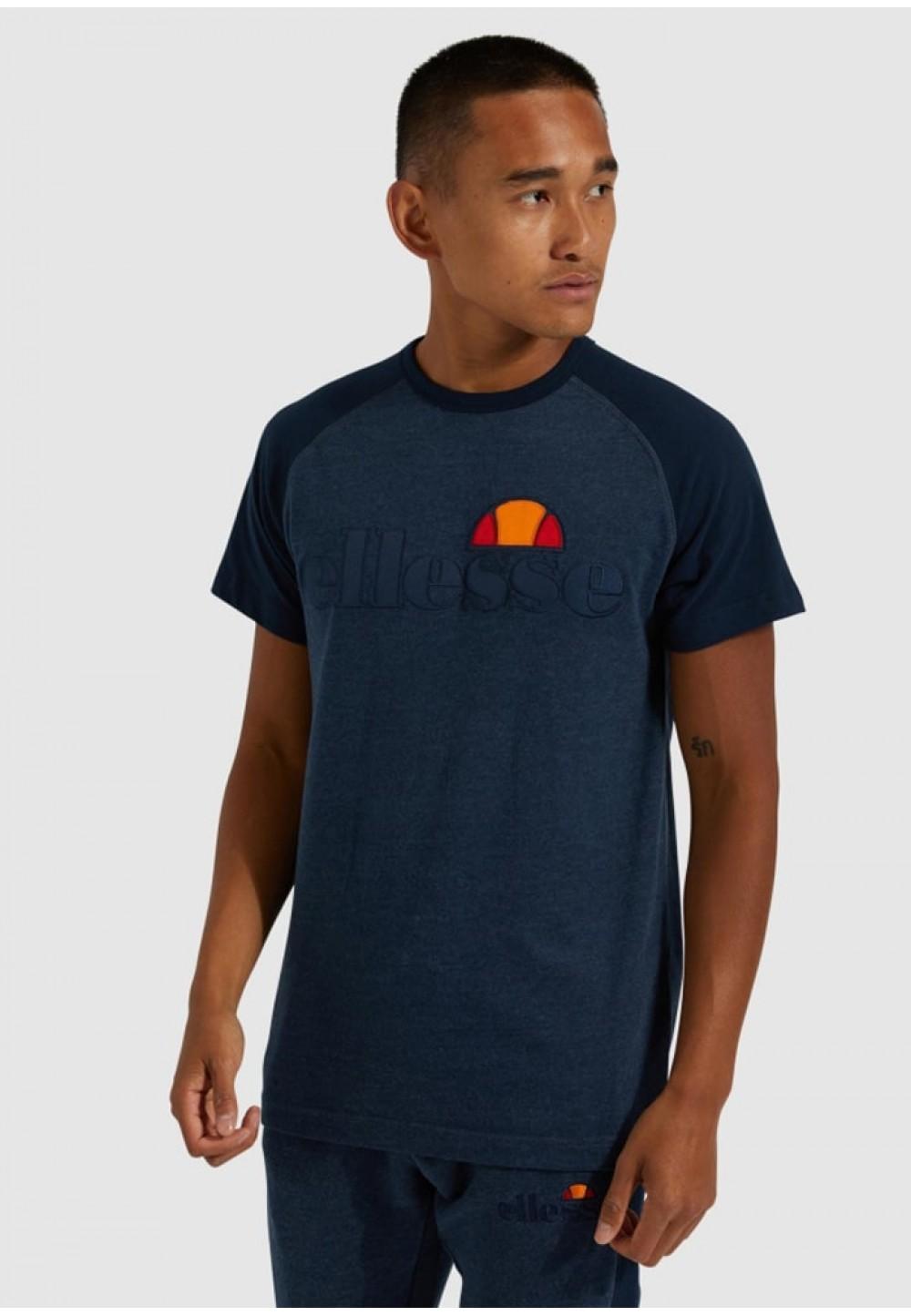 Стильная мужская футболка синего цвета