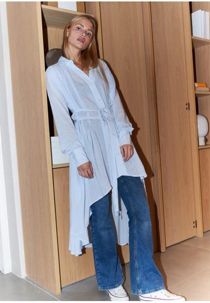 Сукня-сорочка з ремнем