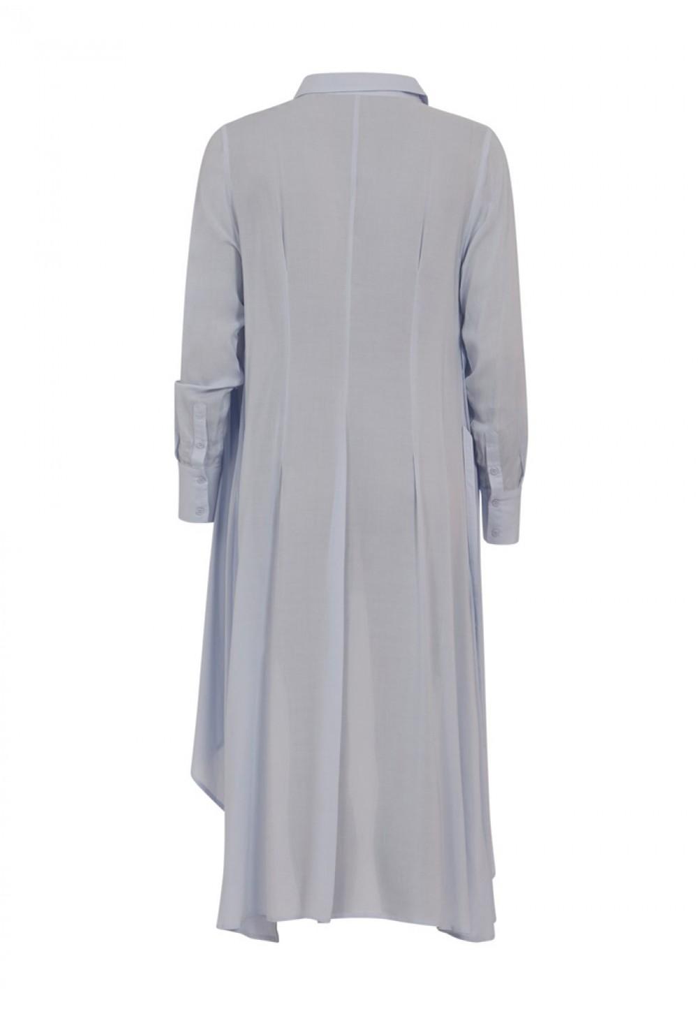 Платье-рубашка с ремнем